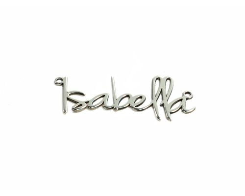 Collar personalizado con nombre en plata de ley 925 mi collar nombre