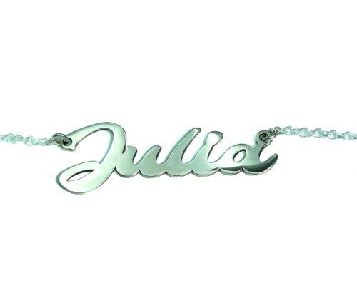 Collar personalizado con nombre en plata de ley 925 soufeel mi collar con nombre
